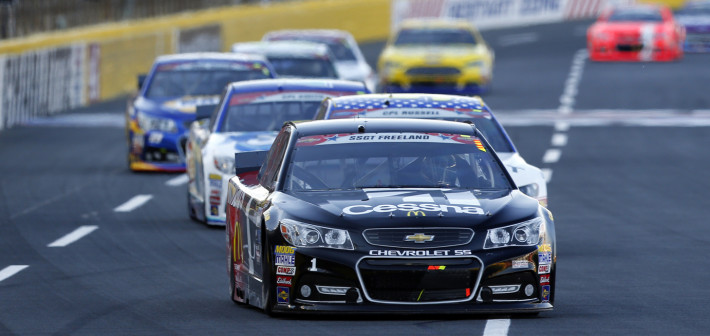 Cessna/McDonald's Team Endures at Charlotte for 19th Place Finish
