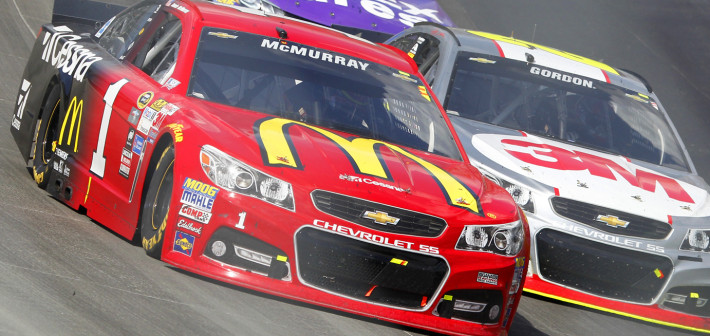 McMurray Battles Back for Seventh-Place Finish at Monster Mile