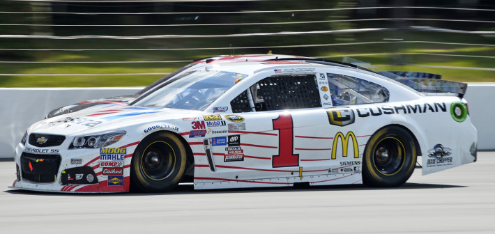 McMurray Races to Seventh-Place Finish at Pocono Raceway