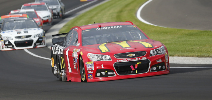McMurray Finishes 16th in Brickyard 400