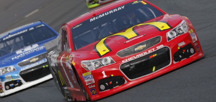 Late-Race Issue Foils Strong Run for McMurray in New Hampshire