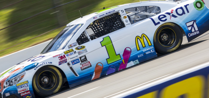 McMurray Stretches Fuel Run for 15th-Place Finish at Pocono