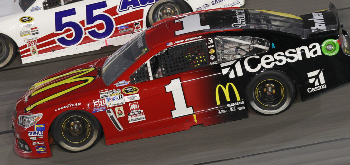 McMurray Claims 14th Place Finish in Southern 500