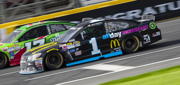 McMurray Finishes 12th In Rain-Delayed Charlotte Race