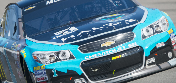 McMurray Finishes 20th at Kansas Speedway