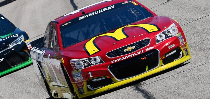 McMurray 21st After Front-Row Starting Spot in Atlanta
