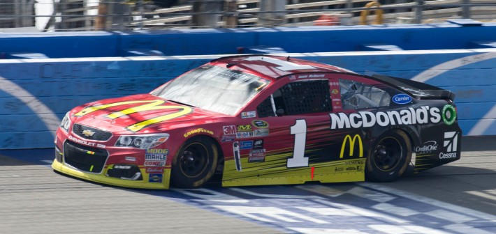 McDonald's Team Benefits From Late Caution To Score Top-10 Finish at Fontana