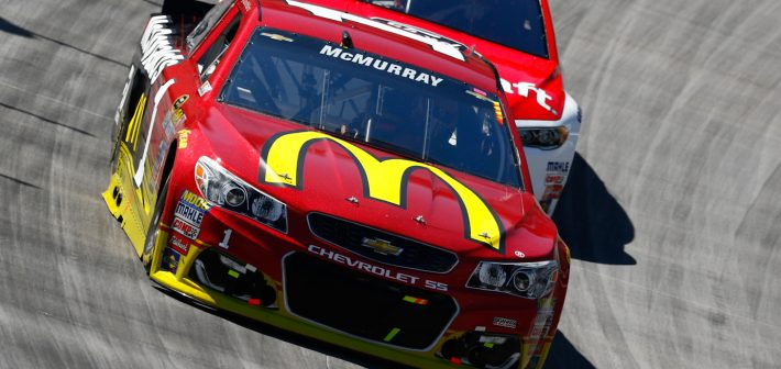 Late Race Restart Foils Strong Bristol Run