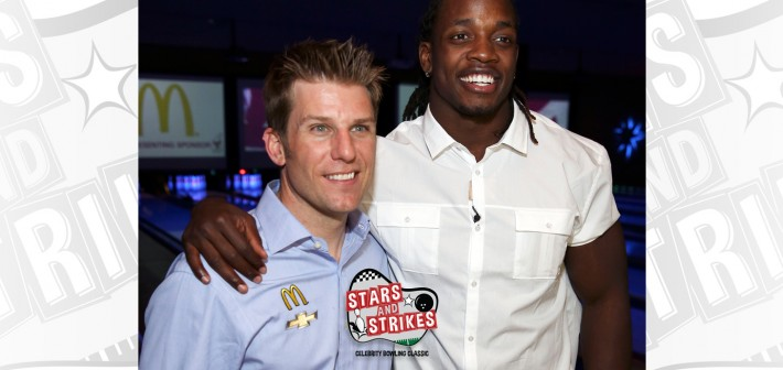 Melvin Gordon and Jamie McMurray Team Up Again to Co-Host Celebrity Bowling Charity Event