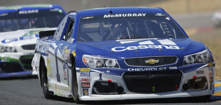 McMurray rallies to top-20 finish