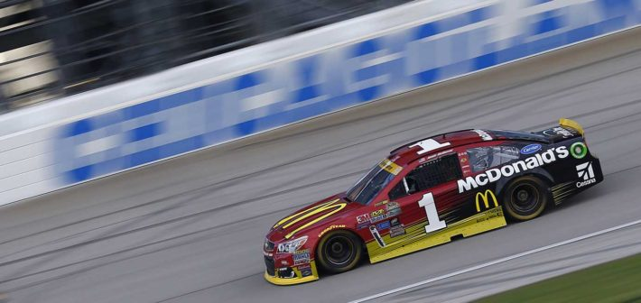 McMurray Starts Chase Off Strong