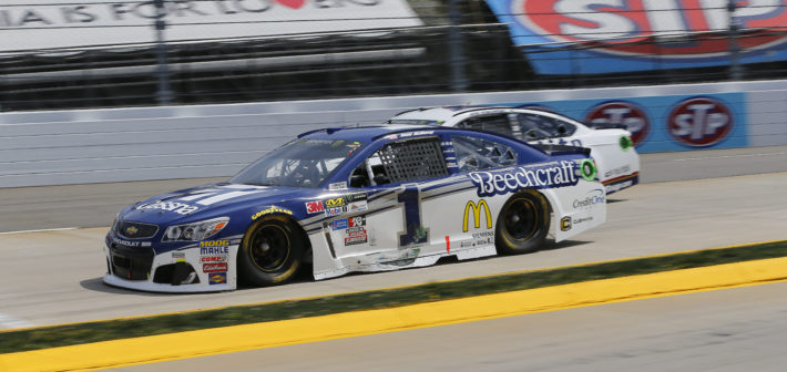 Cut tire ends race early in Martinsville
