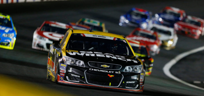 Late-race flat spoils top-10 effort in 600
