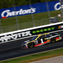 Late Race Incident Leads to 17th at NHMS