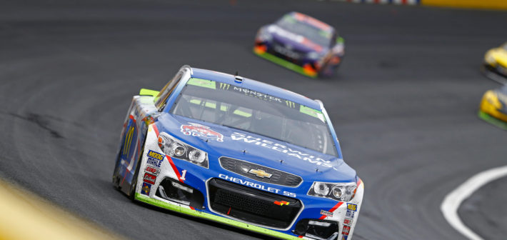McMurray Scores Top 5 at Charlotte