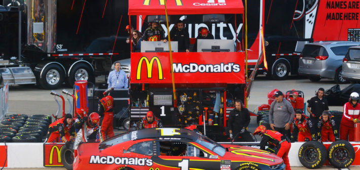 McMurray finishes 19th at Richmond