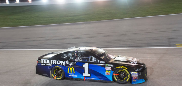 Late-Race Wreck Spoils Kansas Finish