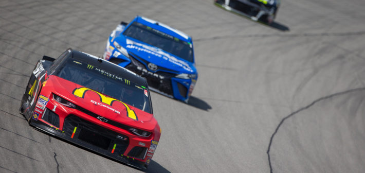 McMurray Rallies to Finish 12th
