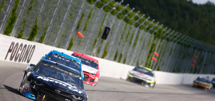 McMurray 20th After Late-Race Incident