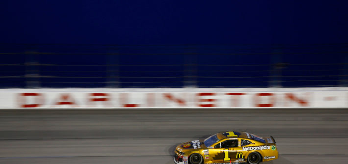 McMurray Scores Top 10 at Darlington