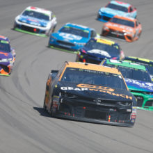 Cut Tires Ends Stellar Run in Vegas