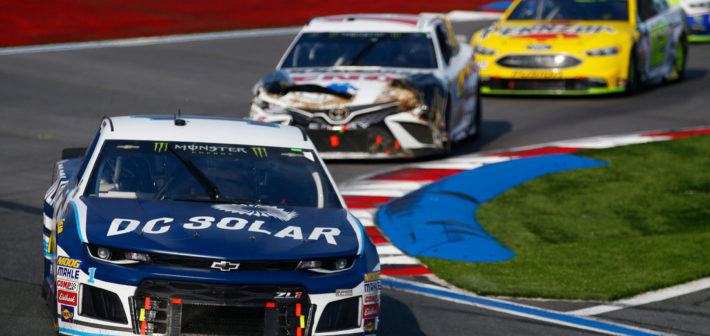 McMurray second in first trip to ROVAL