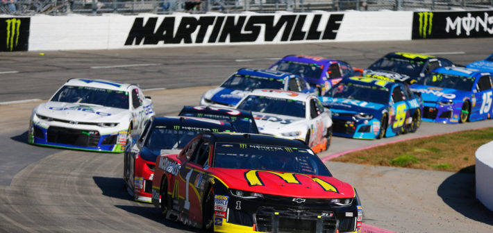 McMurray 16th on challenging day in Martinsville
