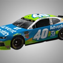McMurray in Clash at Daytona with Advent Health